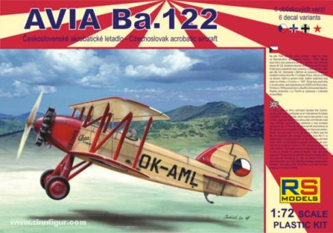 """Avia Ba.122 """"Castor & Pollux Motor"""""""
