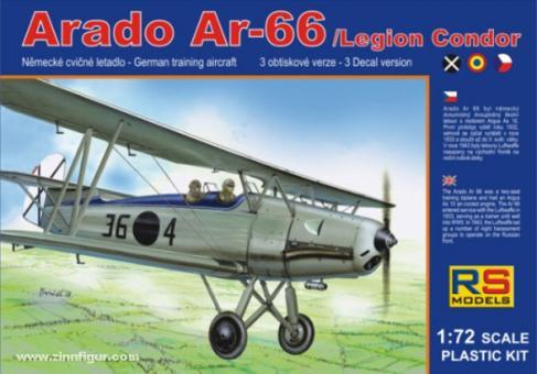 """Arado Ar 66 """"Spanische Nationalisten"""""""