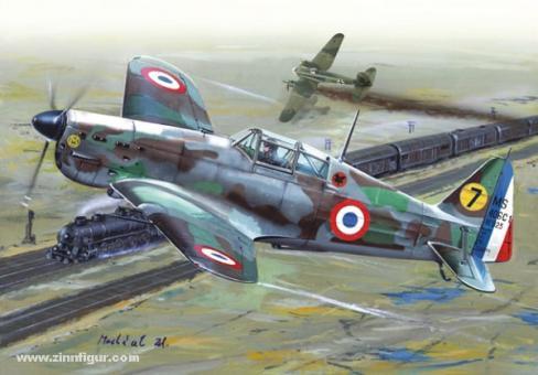 "Morane Saulnier MS.406 ""Frankreich 1940"""