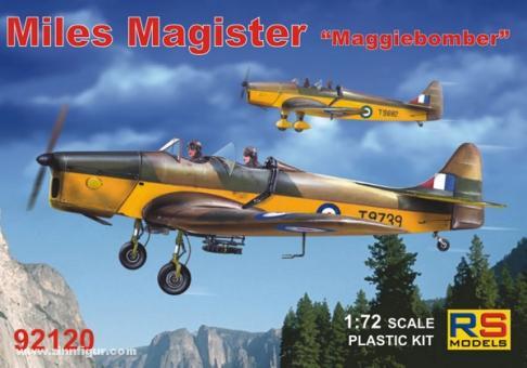 "Miles Magister ""Maggiebomber"""