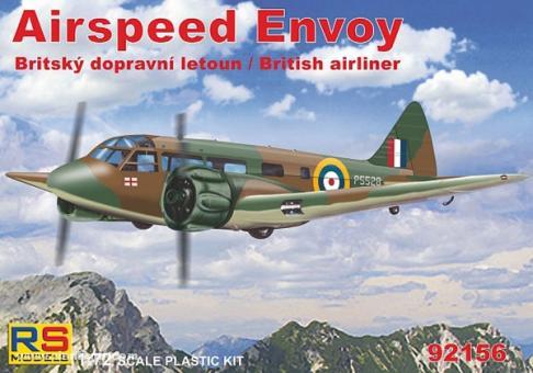 Airspeed Envoy mit Cheetah-Motor