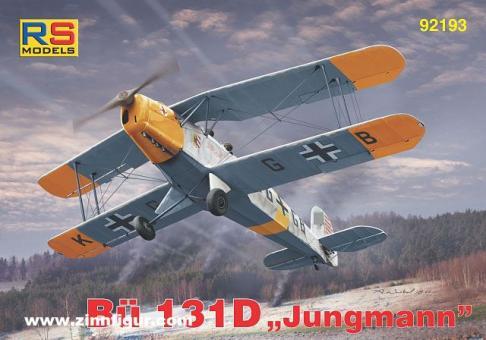 """Bücker Bü 131D """"Jungmann"""""""