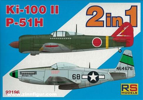 Ki-100 II & P-51H