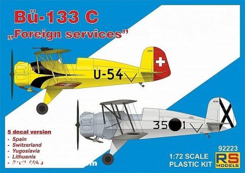 """Bücker Bü 133C """"Fremde Luftwaffen"""""""