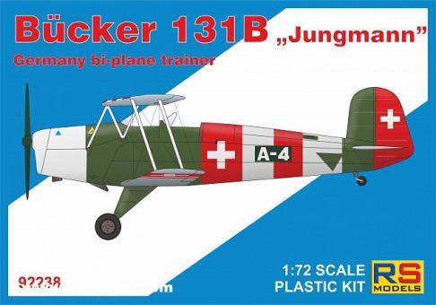 """Bücker Bü 131B """"Jungmann"""""""