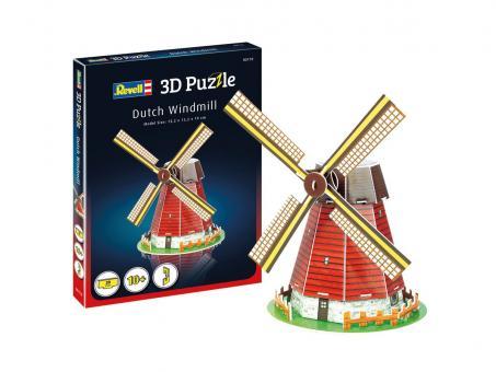 Windmühle - 3D Puzzle