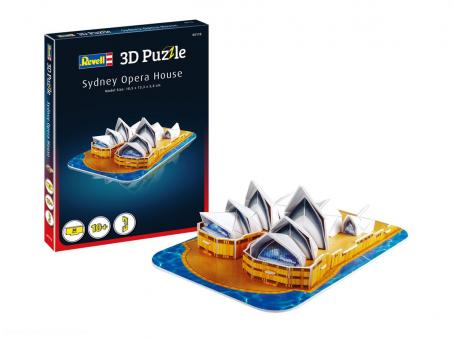 Sidney Opera House - 3D Puzzle
