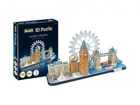 London Skyline - 3D Puzzle