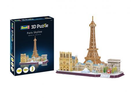 Paris Skyline - 3D Puzzle