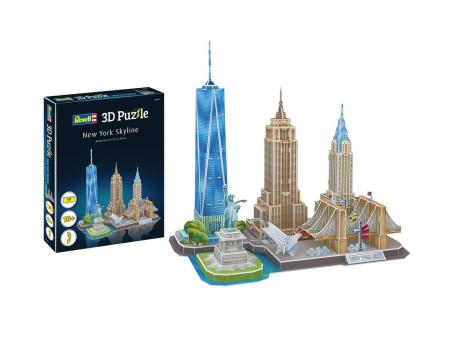 New York Skyline - 3D Puzzle