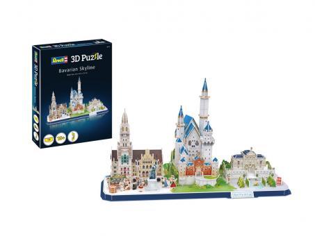 Bayerische Skyline - 3D Puzzle