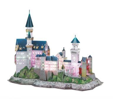 Schloss Neuschwanstein - LED Edition - 3DPuzzle