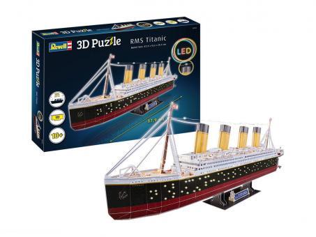 Titanic LED Edition - 3D Puzzle