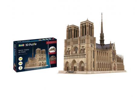 Notre-Dame de Paris - 3D Puzzle