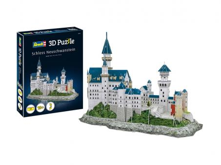 Schloss Neuschwanstein - 3D Puzzle