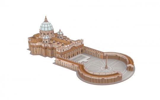San Pietro in Vaticano - 3D Puzzle
