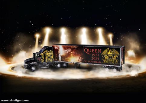 """Queen Tour Truck """"50. Jubiläum"""" - 3D Puzzle"""