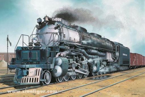 Big Boy Lokomotive