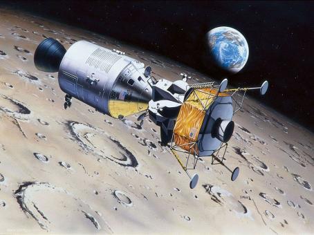 Columbia & LM Eagle - Apollo 11