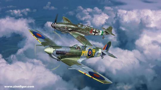 Bf 109G-10 & Spitfire - Combat Set