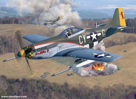 P-51D Mustang späte Version