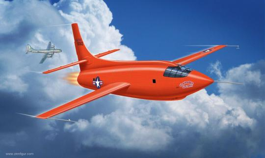 """Bell X-1 """"1st Supersonic"""""""
