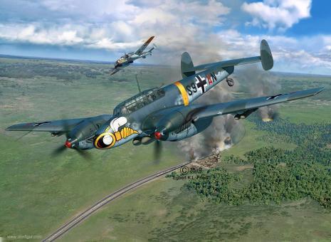 Messerschmitt Bf 110C-7