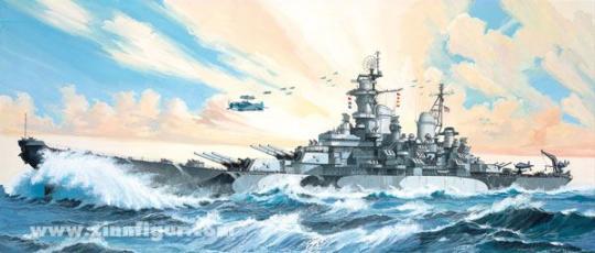 Schlachtschiff USS Missouri