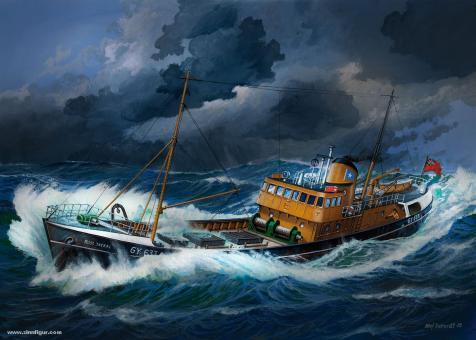 Nordsee Fisch-Trawler