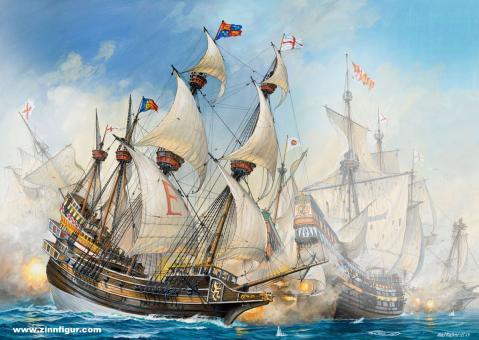 Englisches Kriegsschiff