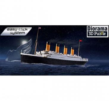RMS Titanic + 3D Puzzle Eisberg