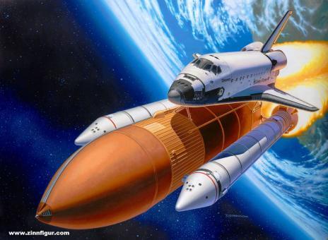 """Space Shuttle & Booster Rockets """"40th Anniversary"""" - Geschenkset"""