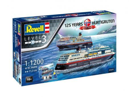 """Hurtigruten Fähren """"125. Jubiläum"""""""