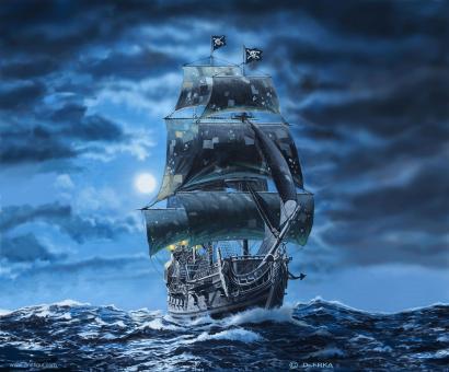 Black Pearl Piratenschiff - Limited Edition