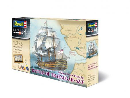 """""""Schlacht von Trafalgar"""" Nelsons Flaggschiff HMS Victory - Geschenkset"""