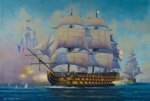 HMS Victory - Admiral Nelsons Flaggschiff