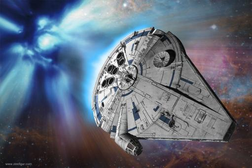 Millennium Falcon - Solo Steckbausatz