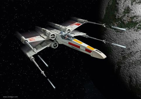 X-Wing Fighter - Easy-Click