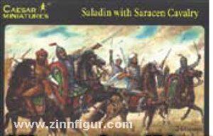 Saladin mit Sarazenen-Kavallerie (H018)
