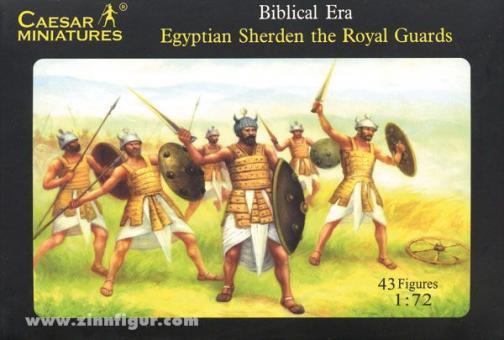 Ägyptische Königliche Wache, Sherden (H050)