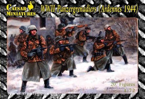 Panzergrenadiere an der Westfront