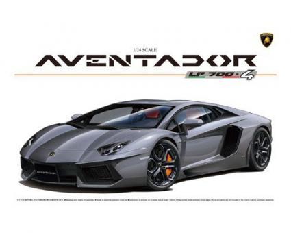 Lamborghini Aventador LP700-4 (volle Motordetails)