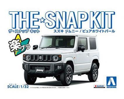 Suzuki Jimny (Pure White Pearl)