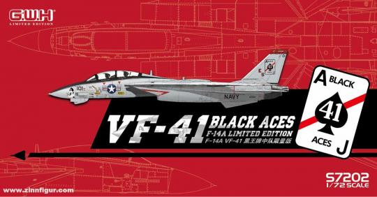 "F-14A Tomcat ""VF-41 Black Aces"" - Limited Edition"