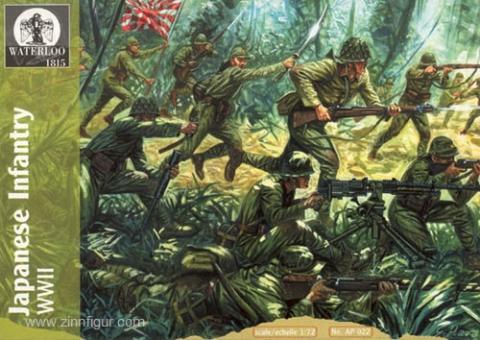 Japanische Infanterie 2. Weltkrieg