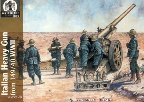 Italienische Artillerie