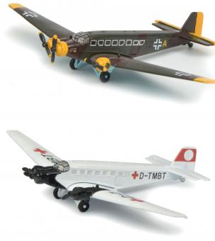 """Set Junkers Ju52/3m """"Luftwaffe & Sanitätsbereitschaft"""""""