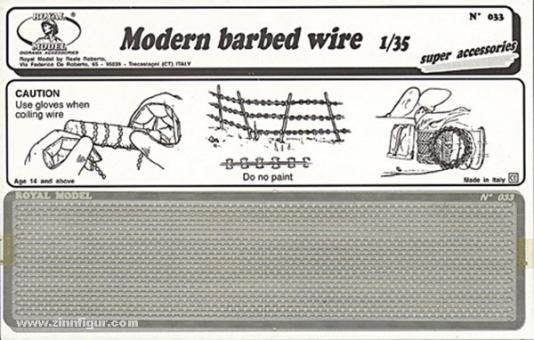 Modern babed wire