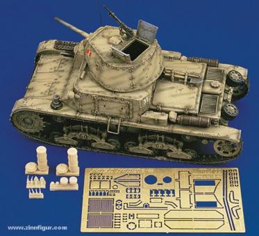 Italienischer Panzer M13/40 Details
