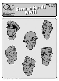 German heads WWII n.1